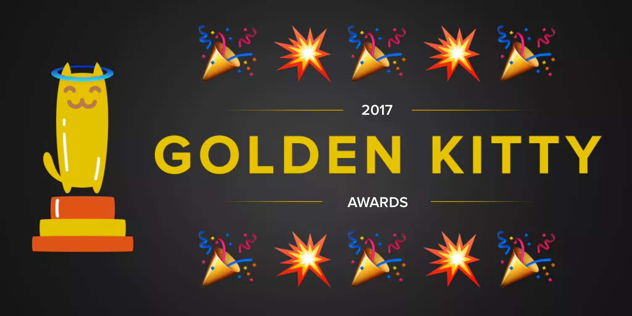Product Hunt Golden Kitty Awards 2017